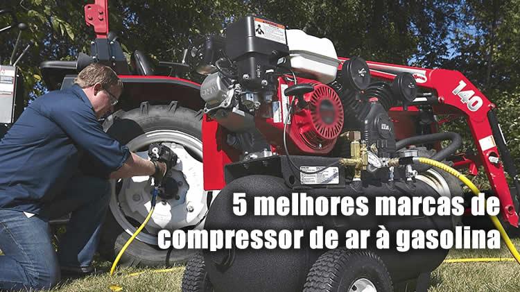 2 melhores marcas de compressor de ar gasolina do brasil