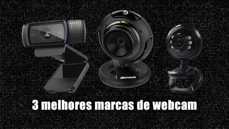 3 melhores marcas de webcam