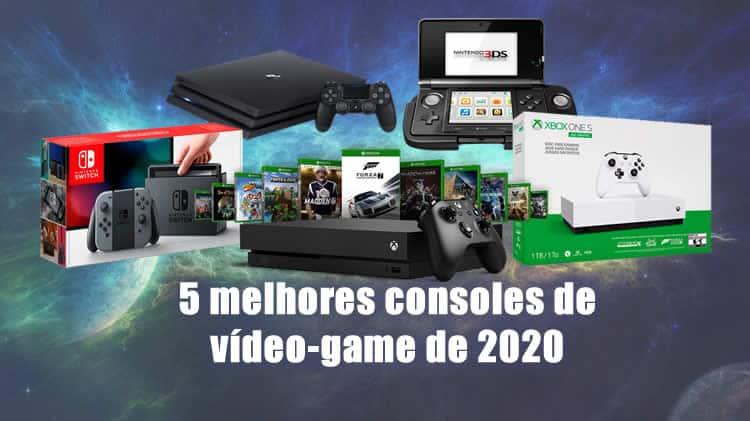 5 melhores consoles de vídeo-game de 2020