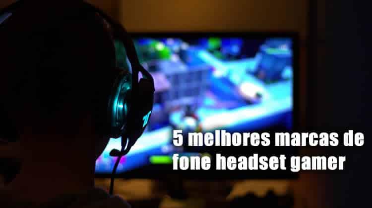 5 melhores marcas de fone headset gamer