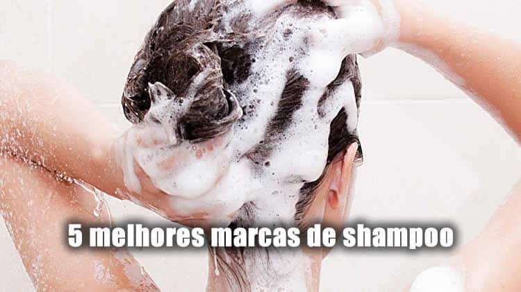 5 melhores marcas de shampoo do mercado da beleza
