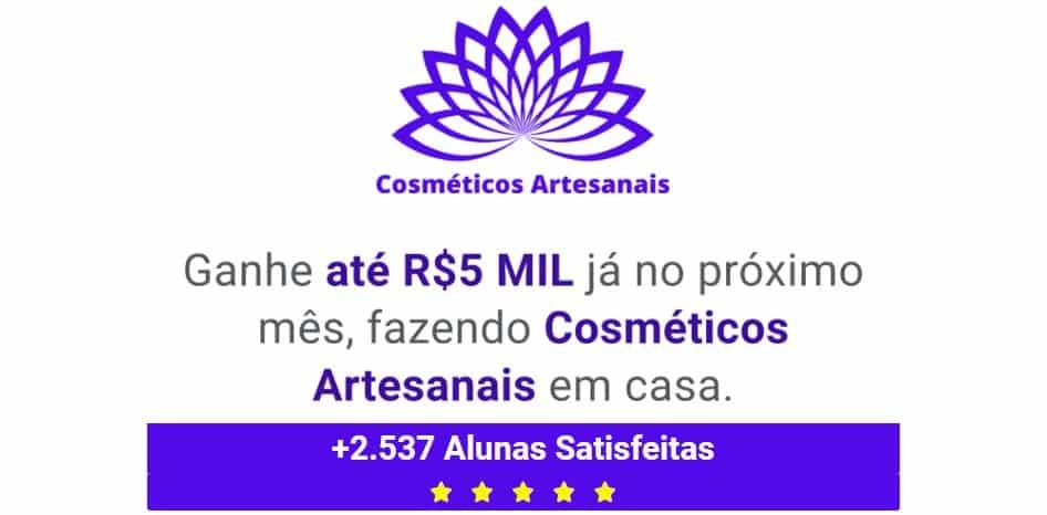 clique e conheça um curso de cosméticos artesanais barato online