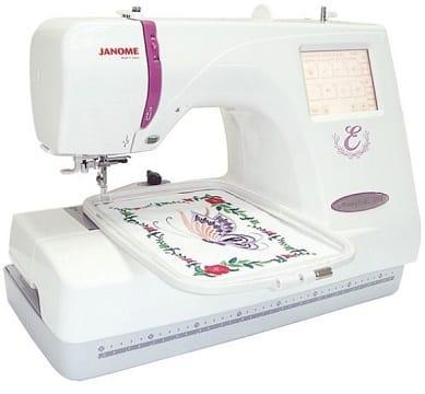 melhor máquina de bordar janome