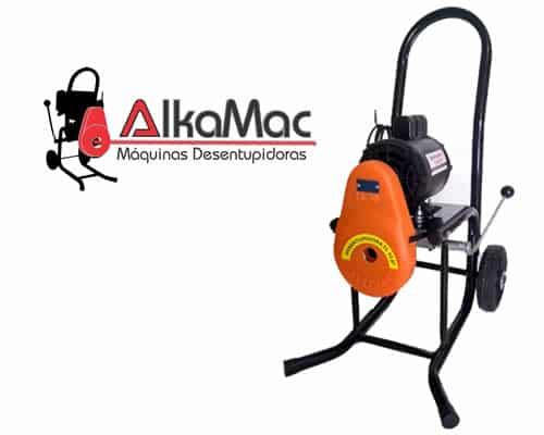 melhores marcas de máquina desentupidora elétrica alkamac