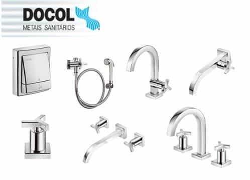 melhores marcas de metais sanitários torneiras registros banheiro design docol
