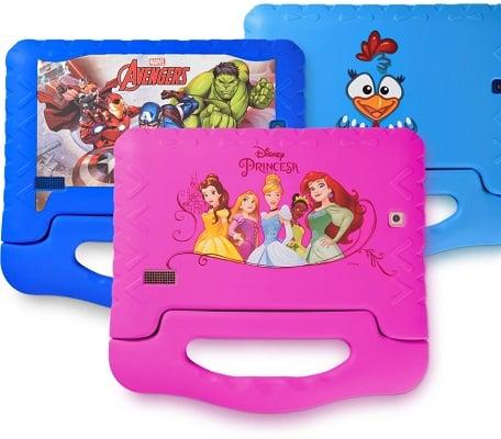 melhores marcas de tablet infantil ou tablet kids multilaser
