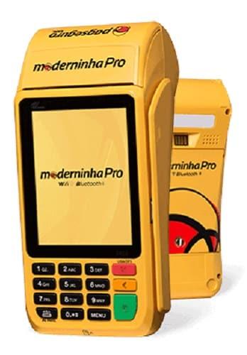 melhor maquininha de cartão 2021 moderninha pro 2