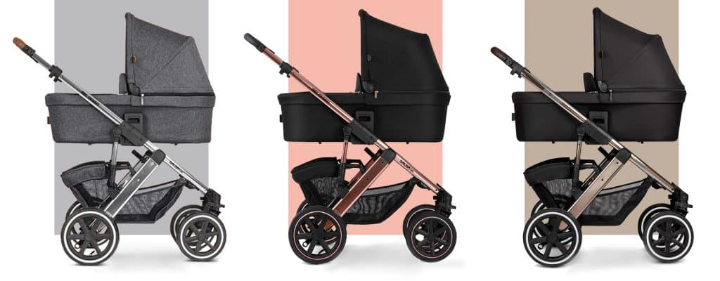 melhores marcas de carrinho de bebê abc design